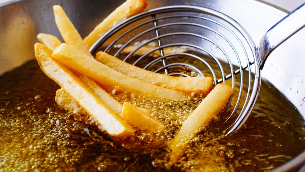 olive oil smoke point for deep frying
